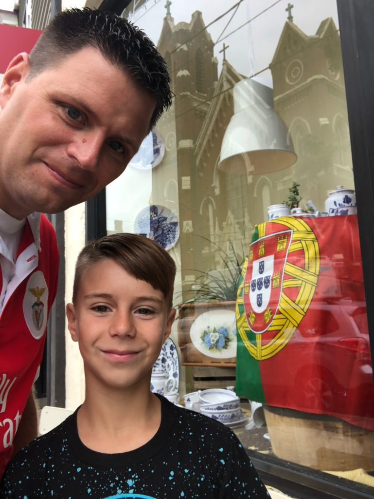 My son and I found Portuguese food in Pittsburgh